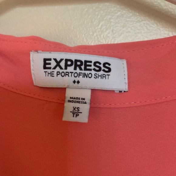 Express Tops - Pink blouse